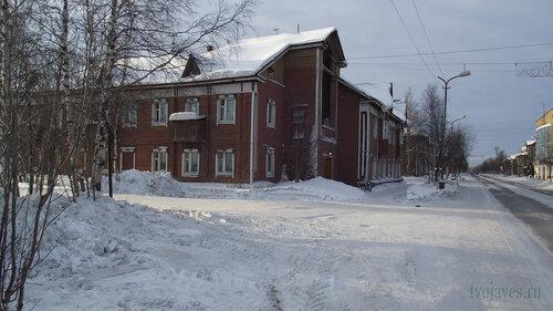 Фотография Инты №3167  Северо-восточный угол Кирова 3 03.02.2013_12:05