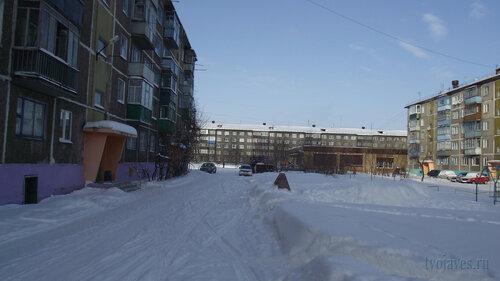 Фото города Инта №3643  Мира 32, Северная 1, Мира 30а и 30 19.02.2013_12:11