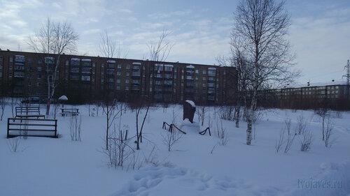 Фото города Инта №3711  Мира 28 и Северная 1 19.02.2013_12:38