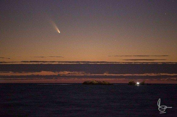 Комета Comet PANSTARRS C 2011 L4 2013