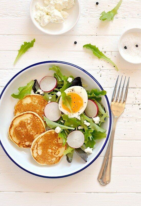 поздний завтрак....
