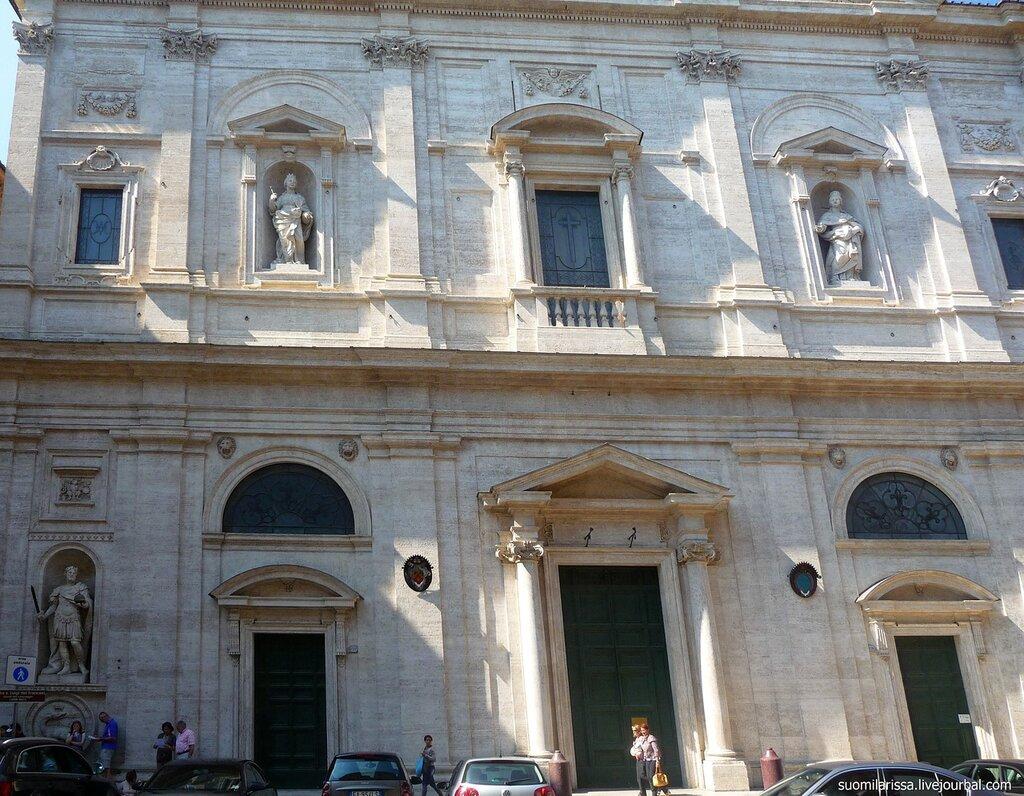 Roma. Chiesa di S. Luigi dei Francesi.