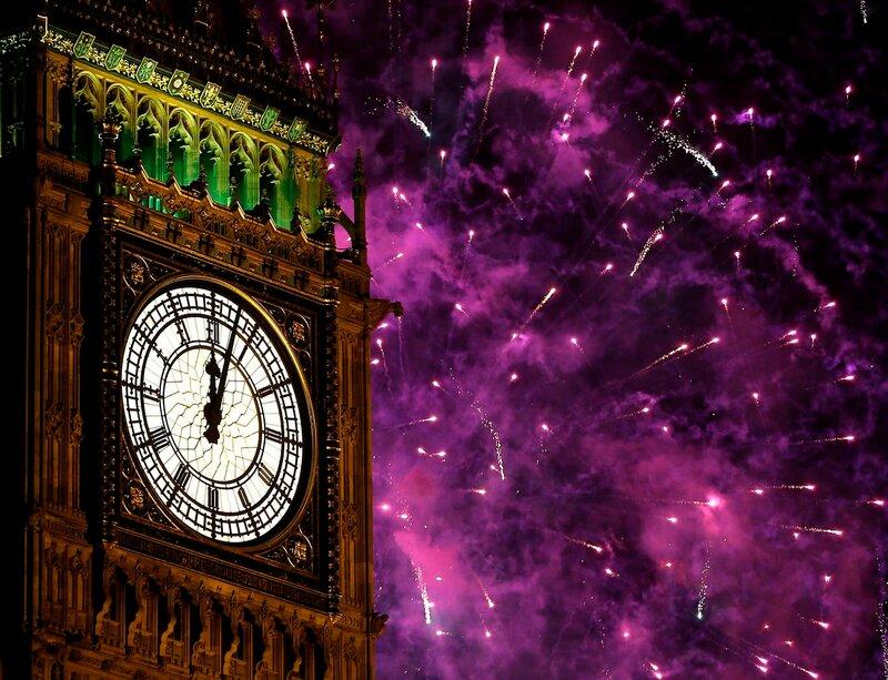 Новогодние фейерверки 2013