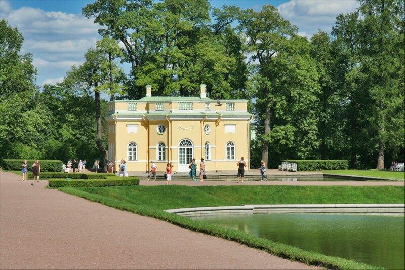 Царское Село, Верхняя Ванна и Зеркальный пруд в Екатерининском парке