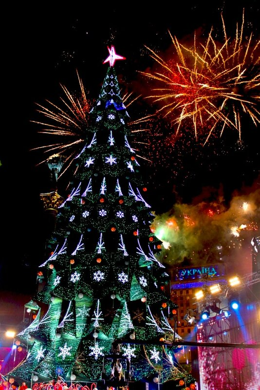 Главная елка Киева 2013