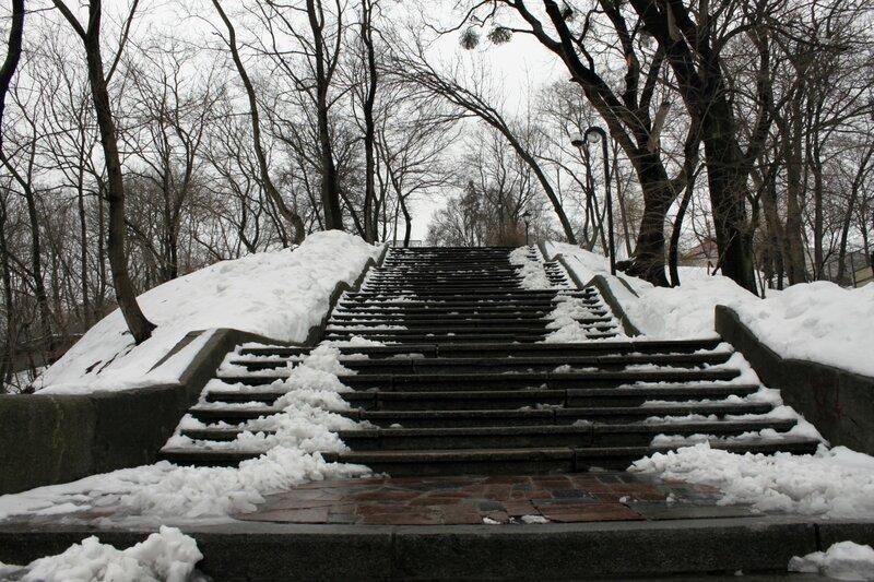 Парковая лестница
