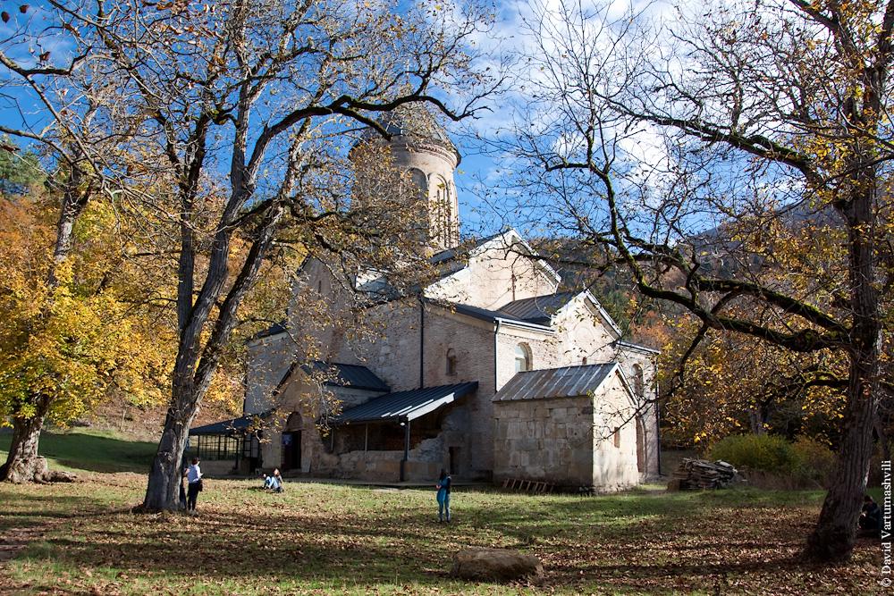 Грузия, монастырь Кинцвиси