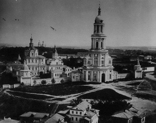 Андроников монастырь в конце 19 века
