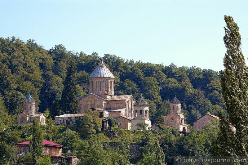 Знаменитый монастырь и академия Гелати (XII век)
