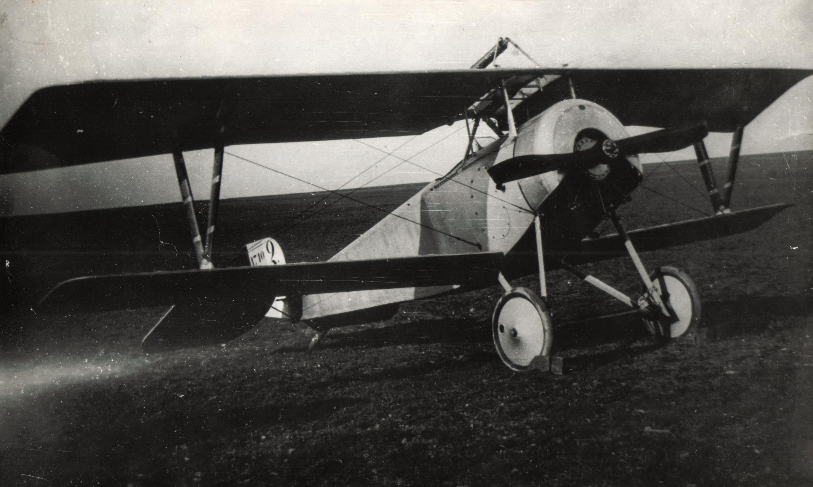 Самолет Ньюпор-XXI, на котором был сделан 1-ый умышленный штопор в 1916 году.jpg