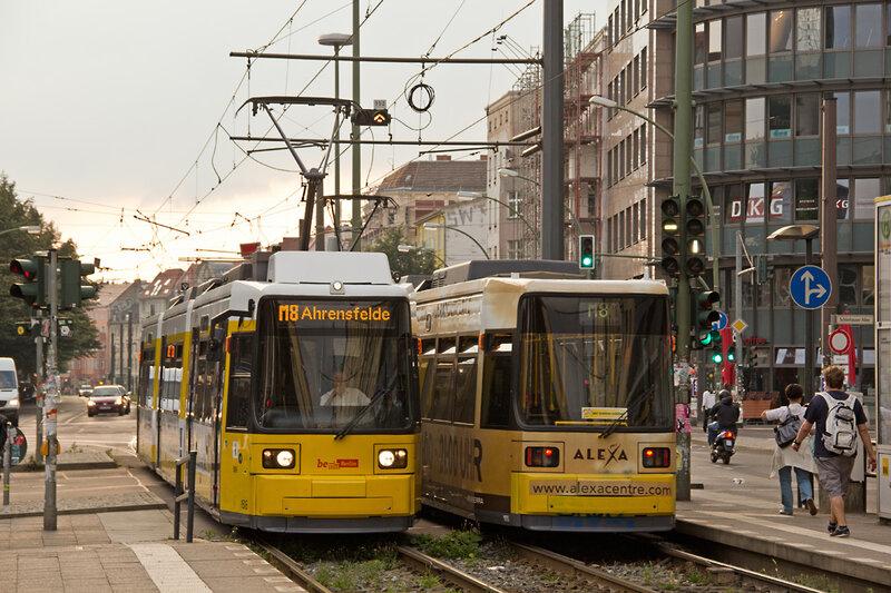 И, конечно, схема трамвайных