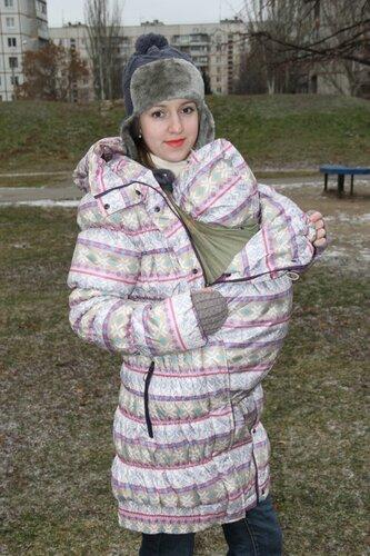 Продам слингокуртку гретта мозаика 3в1, размер 42, ношена одну зиму, но надевала очень редко её, состояние отличное