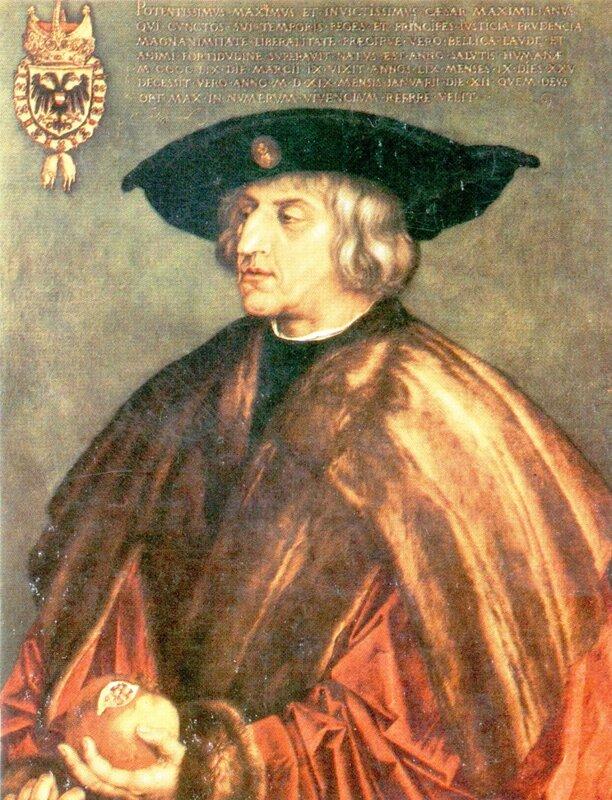 Альбрехт Дюрер, Портрет императора Максимилиана..jpg