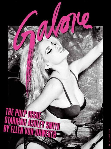 Ashley Smith by Ellen von Unwerth / Эшли Смит в фетиш-фотосессии для журнала Galore Magazine