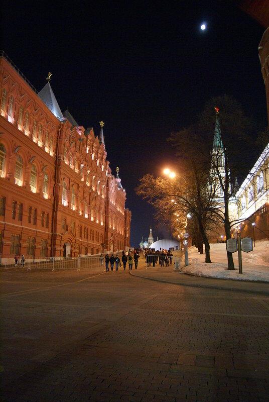 Прогулка после концерта (23.02.2013 г.)