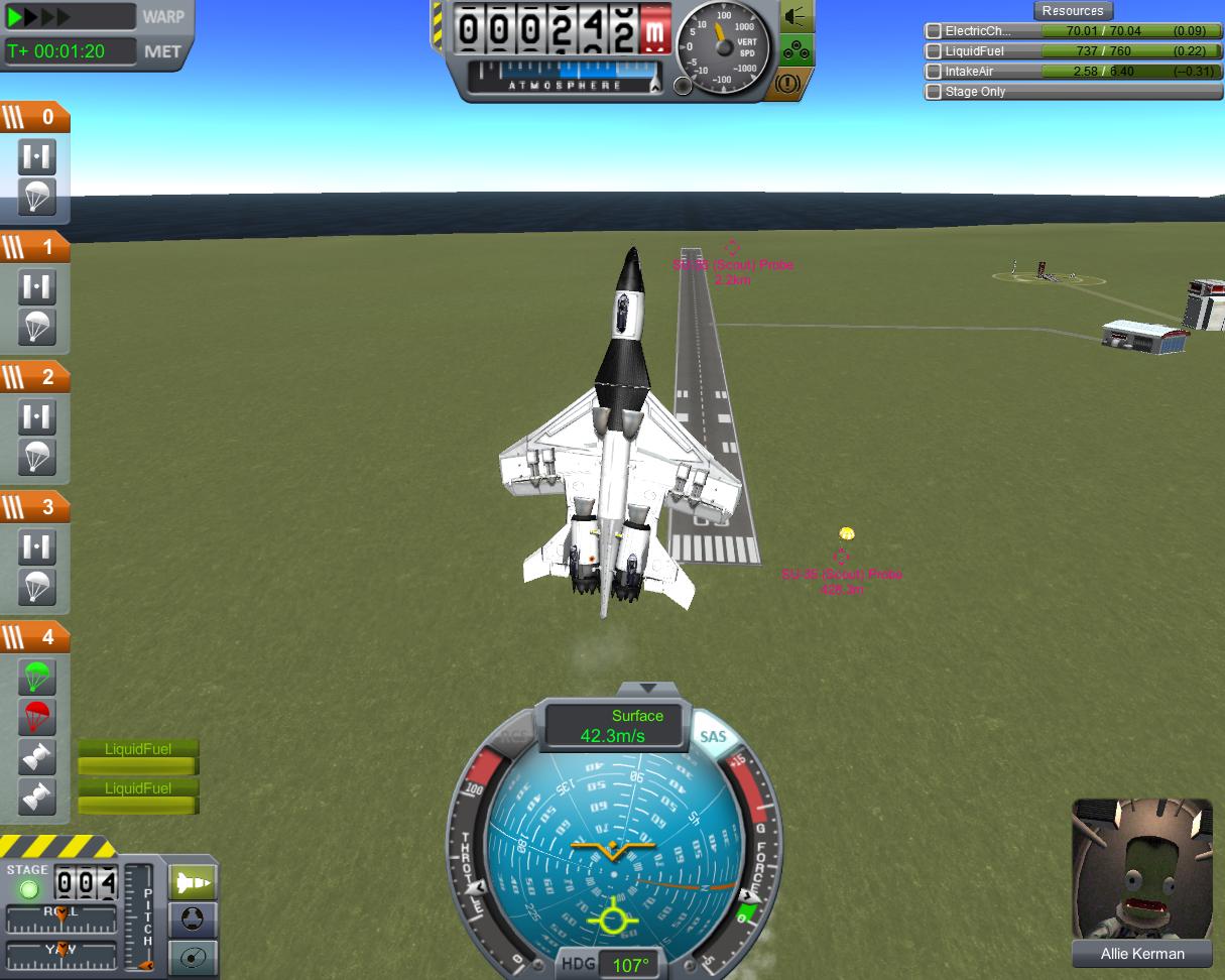 Блог им. Ranger: Kerbal Space Program: Через тернии к звёздам. Часть 2: Самолёты.