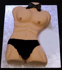 Hunk Novelty Cake