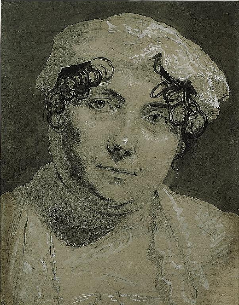 Portrait study of Lavinia, Countess of Spencer (1762-1831)