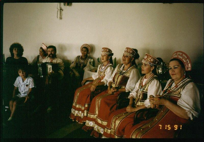 197. Русские песни на Русском чаепитии