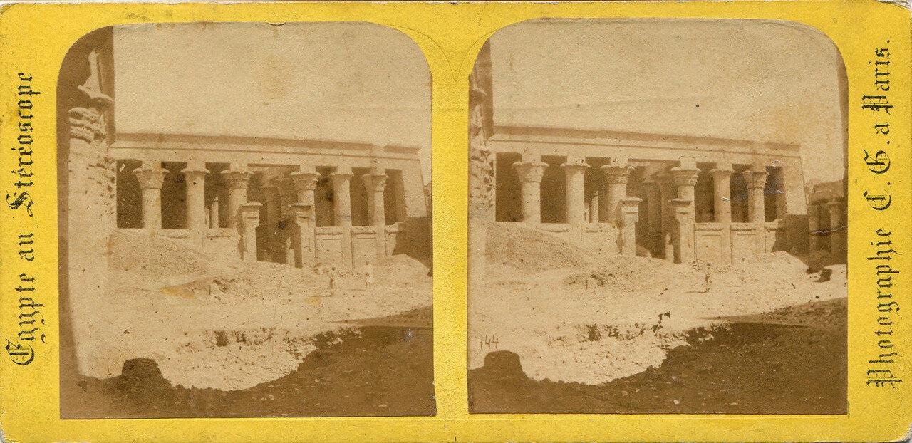 Храм Себека и Гора. 1890-е
