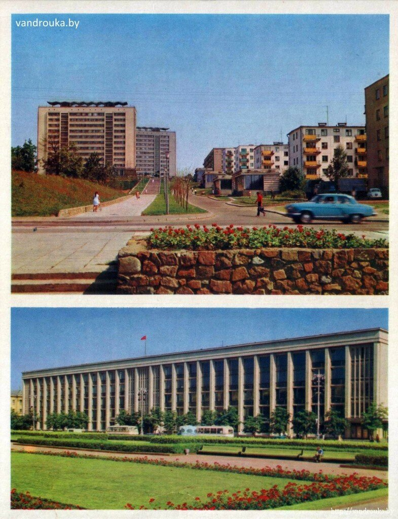 7. Сверху — бульвар Луначарского, снизу — здание Горисполкома