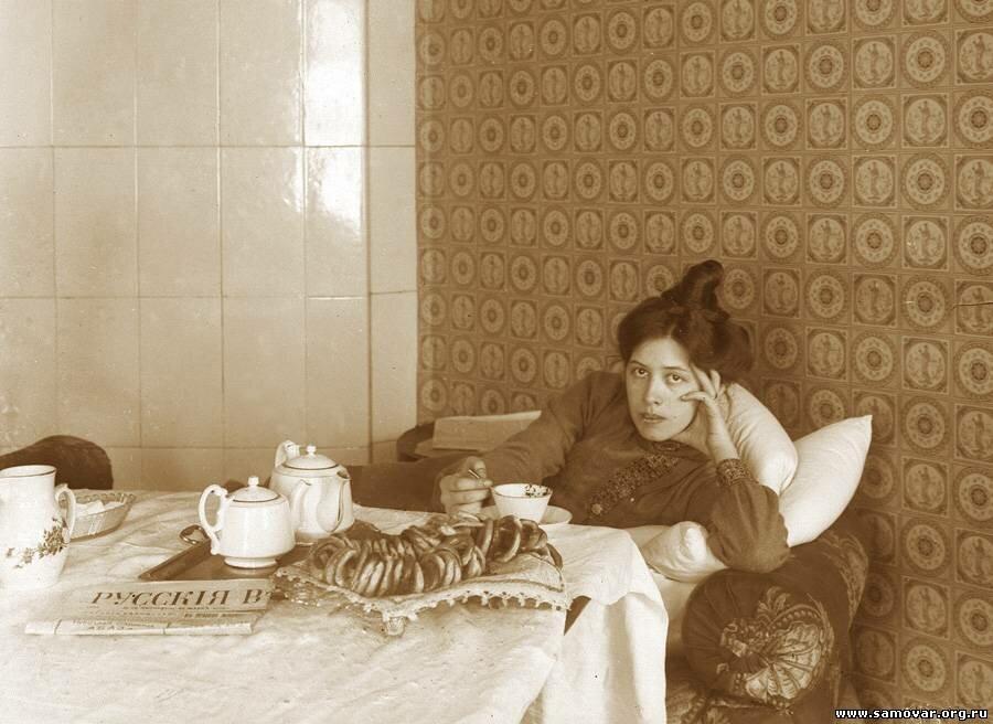 Чаепитие с сушками