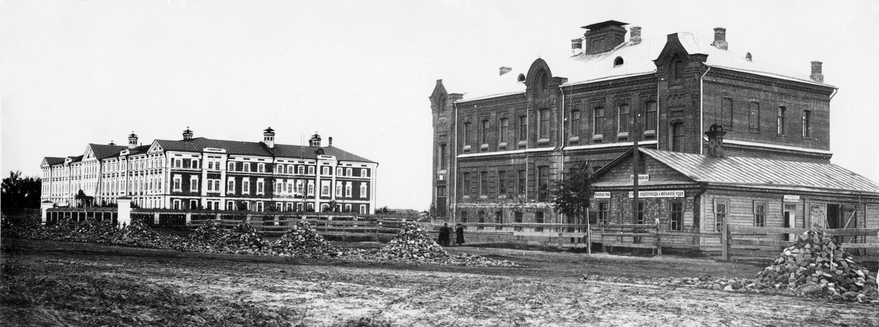 Приют для нищих детей (1893 г.) на Монастырской площади