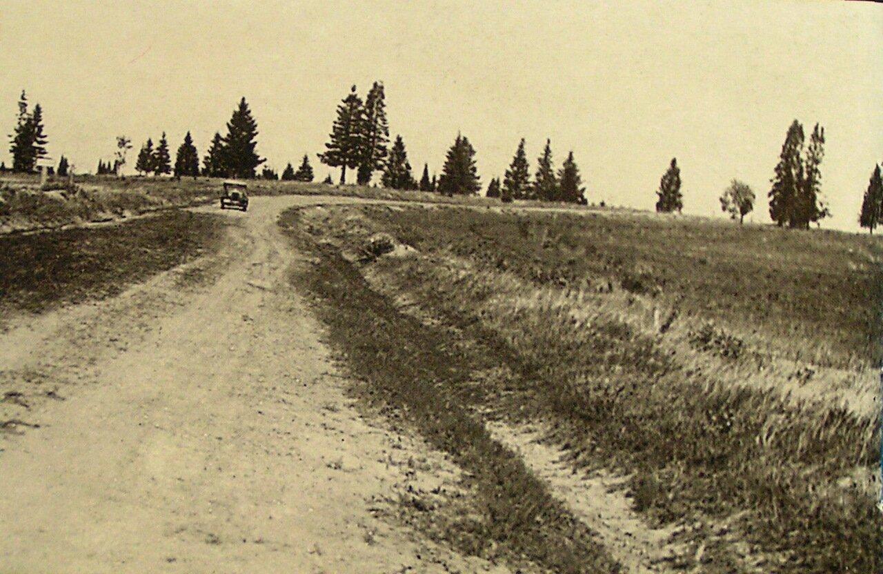 Гравийная дорога у села Карсовай.