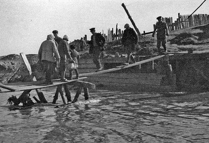 Мост через р.Барнаулка, 1947г.