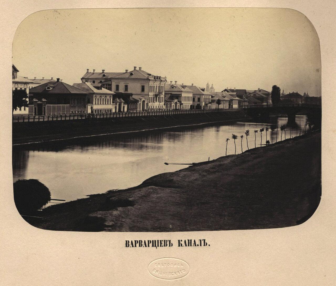 Варварциев канал в Астрахани . Ателье «Светопись Вишневского».— Начало 1870-х