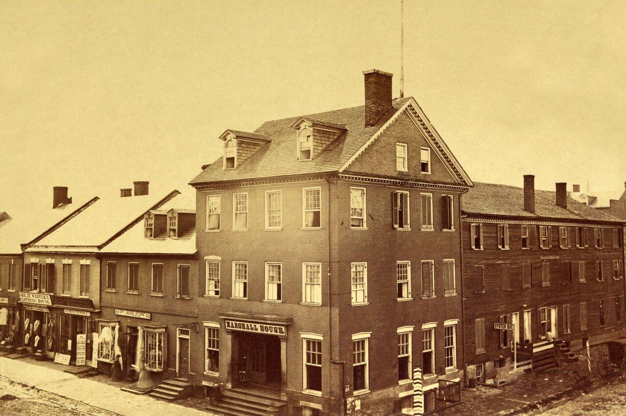 Дом Маршалла. Александрия, Вирджиния. Август 1862 г.