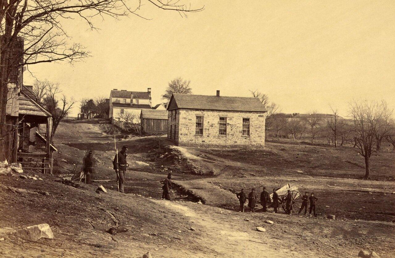 Каменная церковь. Сентервилль, Вирджиния. Март 1862 г.