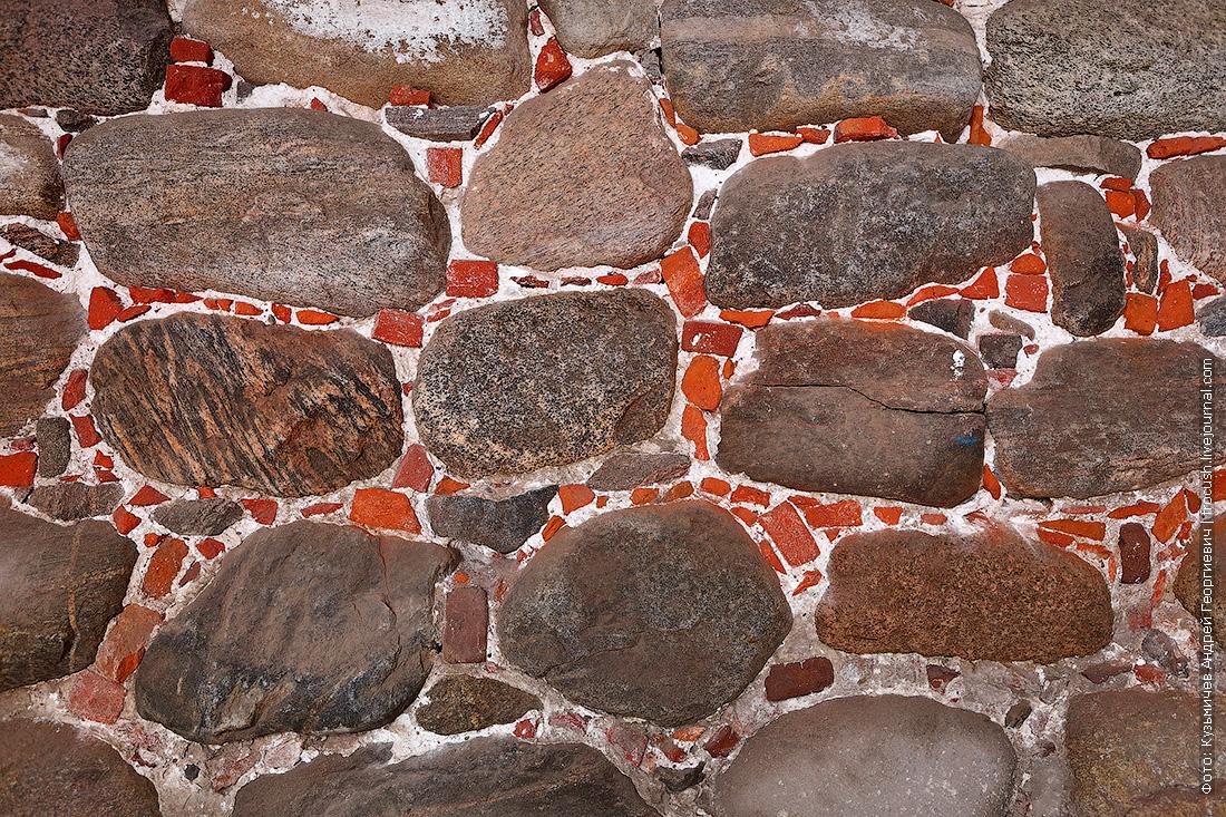 Соловки кладка монастырских стен