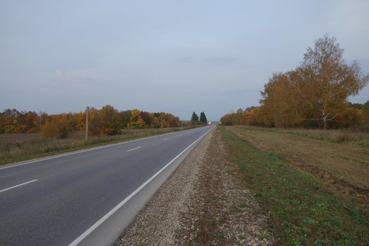 вечернее шоссе Р-139