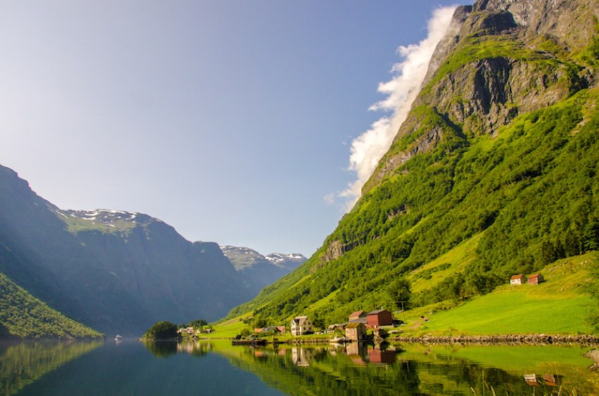 Nryfjord in Norway