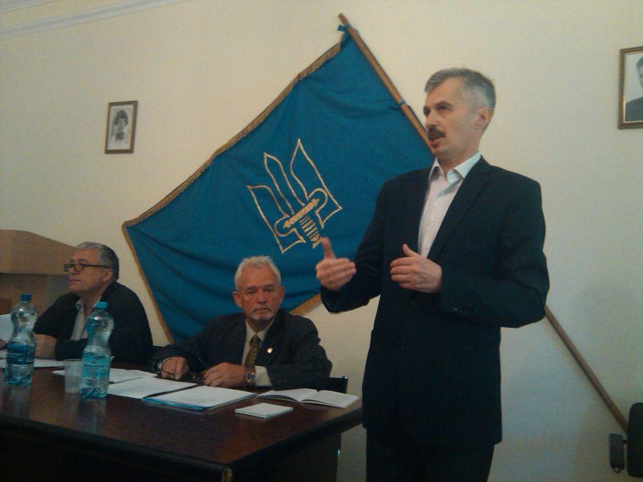 Киевская городская организация ОУН поддержит список ВО Свобода