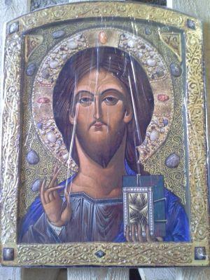 """Неизвестный мужчина подарил бойцам """"Пр····о се····а"""" икону"""