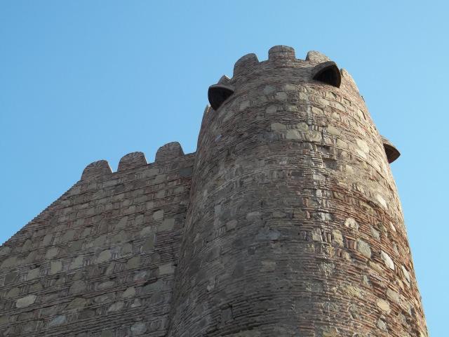 Древняя крепость НАРИКАЛА в Тбилиси (7)