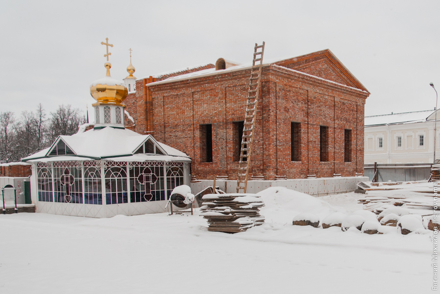 строительство храма на проспекте мира