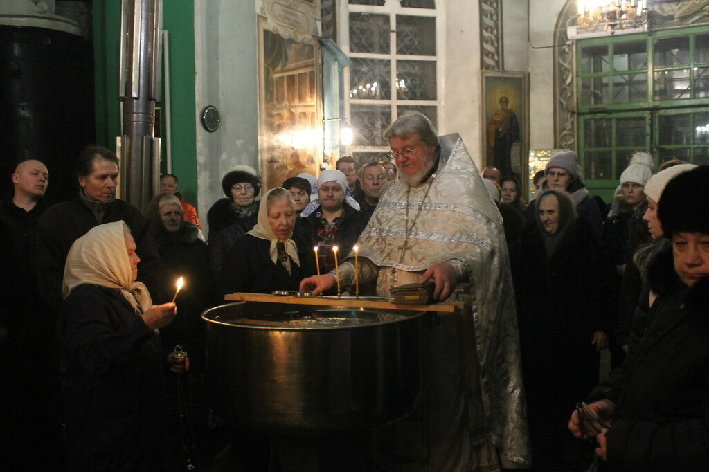 Праздник Крещения в Быньгах