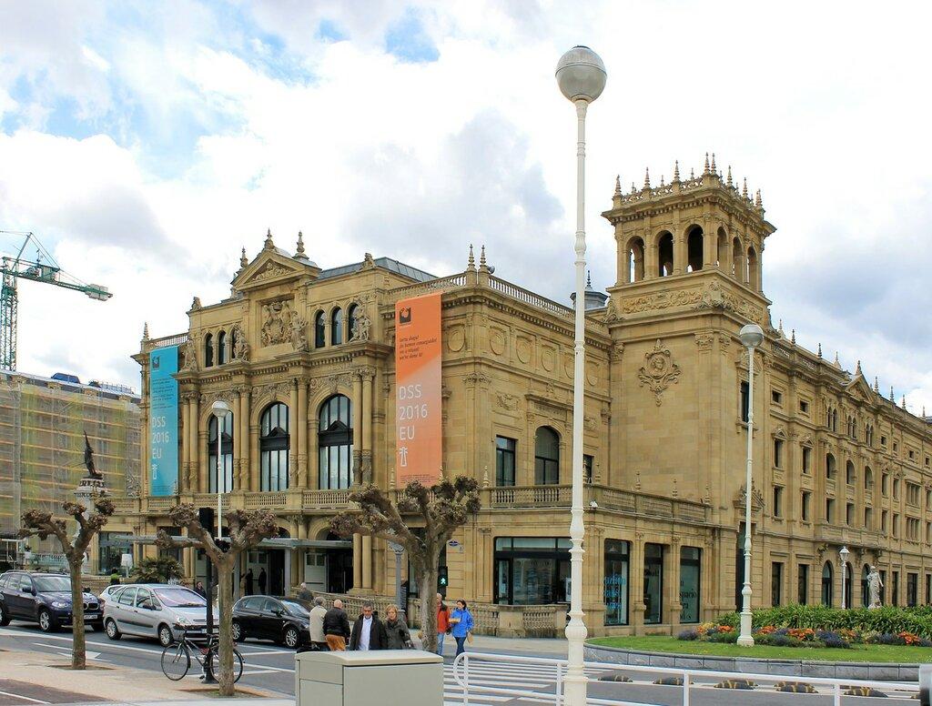Доностия-Сан-Себастьян. Театр Виктории Евгении (Teatro Victoria Eugenia)