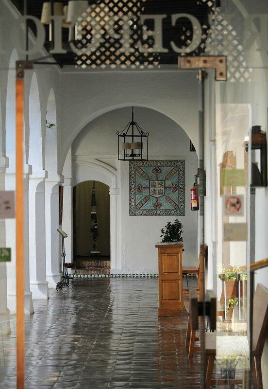 Guadalupe. Colegio de Infantes. Parador