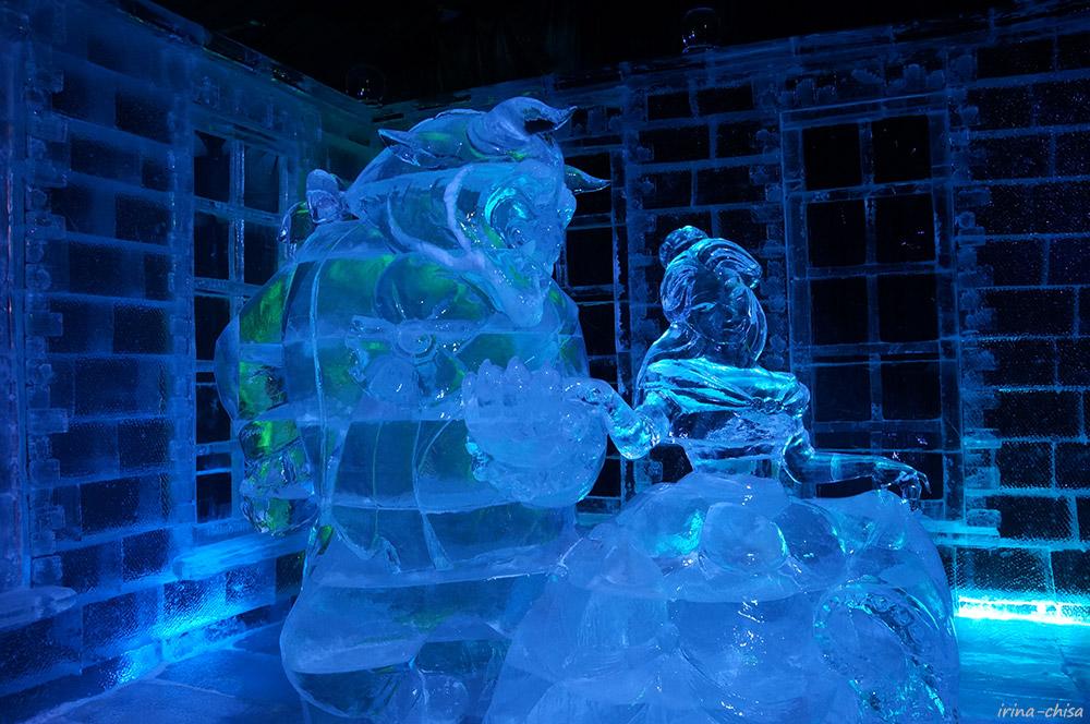фото ледяных фигур в комсомольске на амуре для себя или