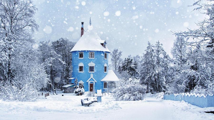 28.Первый снег.