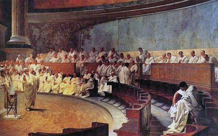 7. Процедура объявления войны Во времена Римской республики, только Сенат (правительственная организ