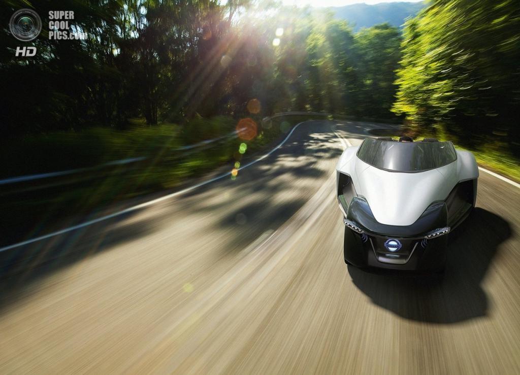 Nissan анонсировала концептуальный BladeGlider
