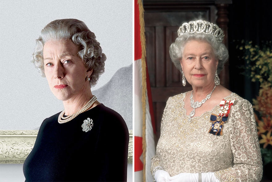 Хелен Миррен в роли королевы Елизаветы II, «Королева».