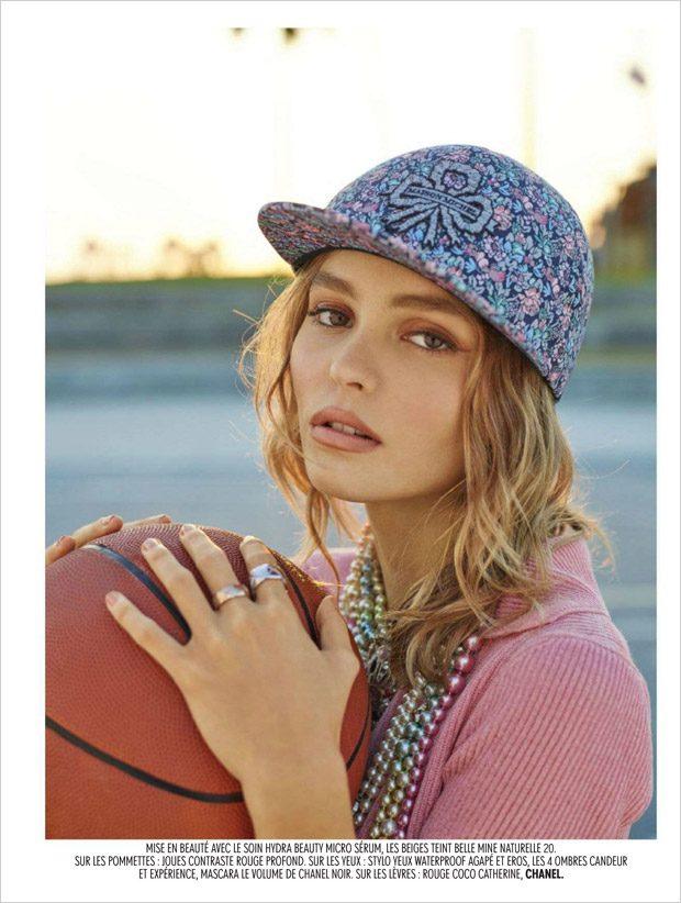 Лили-Роуз Депп в Jalouse Magazine (7 фото)