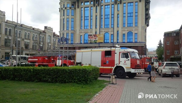 ВТомске произошел пожар варбитражном суде нанабережной Ушайки