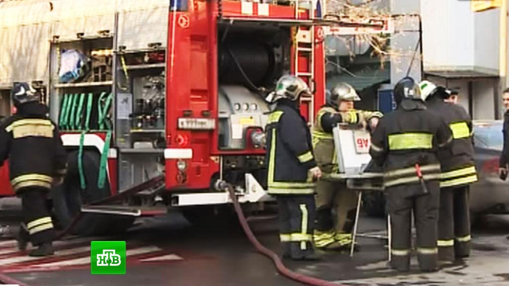 5 человек спасено впожаре вцентре столицы